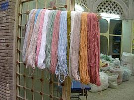 ペルシャ絨毯の話~ペルシャ絨毯の糸