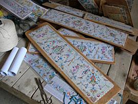 ペルシャ絨毯の話~ペルシャ絨毯のデザイン画