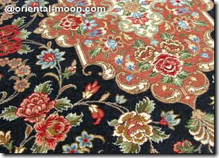 高級ペルシャ絨毯玄関マットサイズ(小)