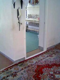 イスファハン・ペルシャ絨毯を織っているお部屋