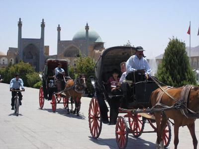 イスファハンのエマーム広場