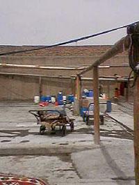 キリムや絨毯を洗う場所 キリム&ペルシャ絨毯専門店オリエンタルムーン