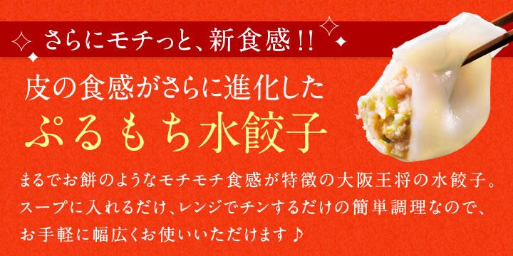 【王将独自製法!!】信じられないくらいモチモチ♪ひとつひとつ手包みで作ってます!