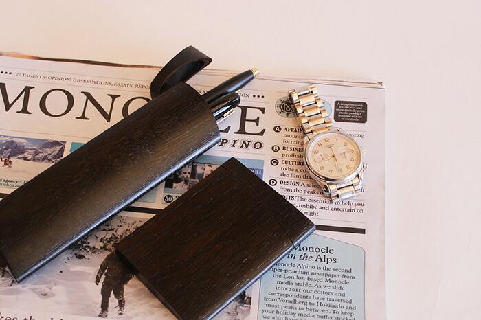 「短刀」をモチーフにした木製ペンケース「TANTO:」