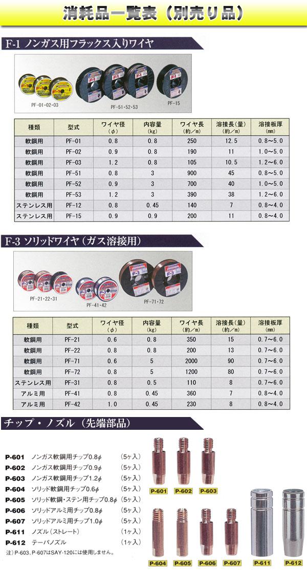 SUZUKID(スター電器) アーキュリー120 軟鋼・ステンレス溶接用MAG(混合ガス)ボンベセット