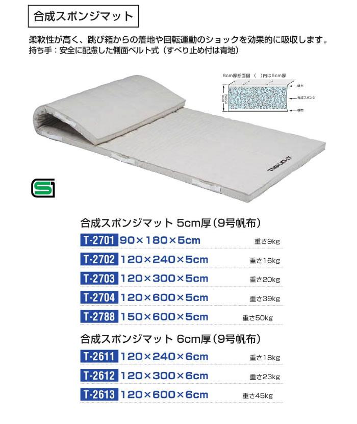 TOEI LIGHT 合成スポンジマット120x300x6cm