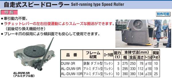 ダイキ 自走式スピードローラー AL-DUW-10R