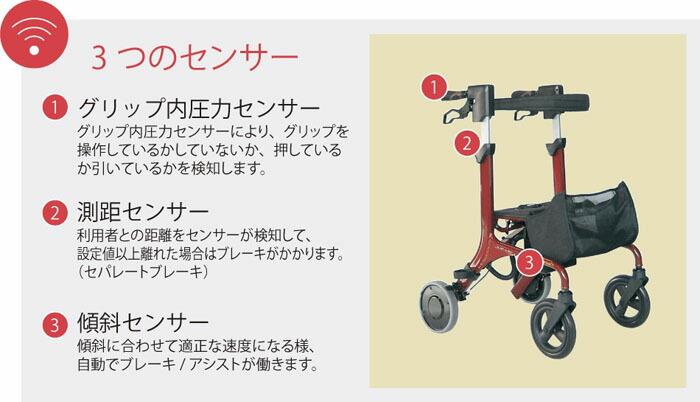 カワムラサイクル 電動アシスト機能付き歩行車 フラティア KWF-A