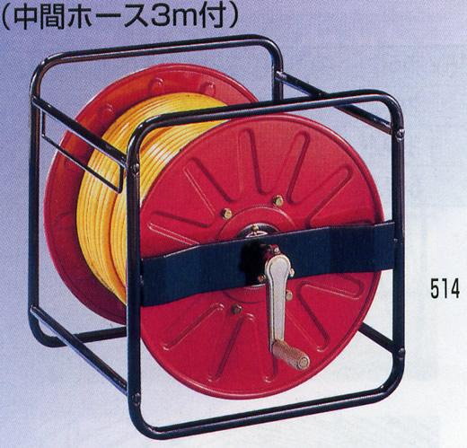 永田製作所 ストロングリール 角リールホースセット SLKH-150 φ10×100m G3/8