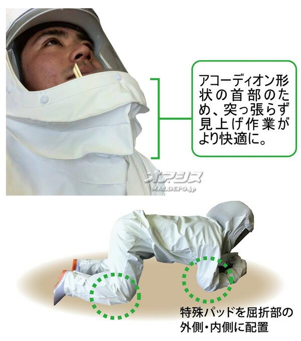 MAC GREEN(マックグリーン/MAX/マックス) スズメバチ防護服 アンチホーネット3 KA-8883