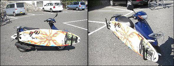 サーフボード積載画像1