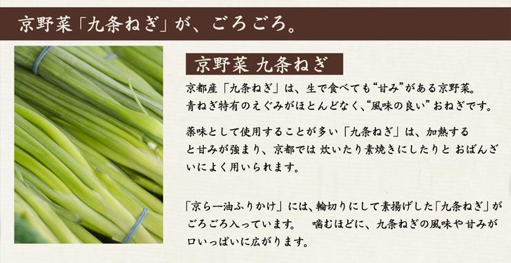 京都の野菜九条ねぎについて