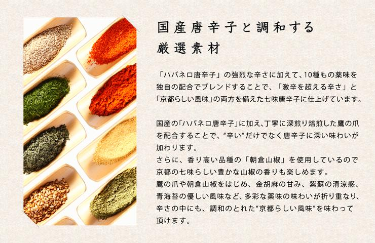 舞妓はんひぃ〜ひぃ〜七味の薬味