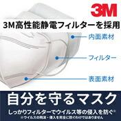 3M ウイルス飛沫対策マスク