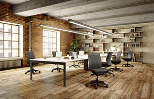 空間の雰囲気を大切にしながらディスカッションできるワークスタイルにぴったりなテーブル&チェア。