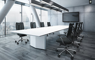 重要な打ち合わせ等空間を引き締め決断力が高まるオフィスデザイン