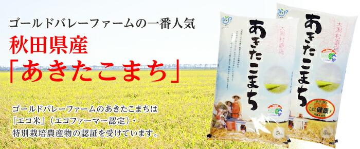 ゴールドバレーファームの一番人気 秋田県産あきたこまち