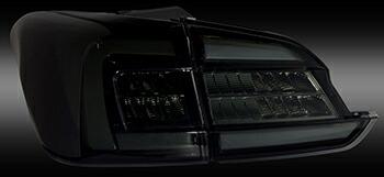 86 BRZ 用 LEDテールランプREVO レッドレンズ/マットブラック