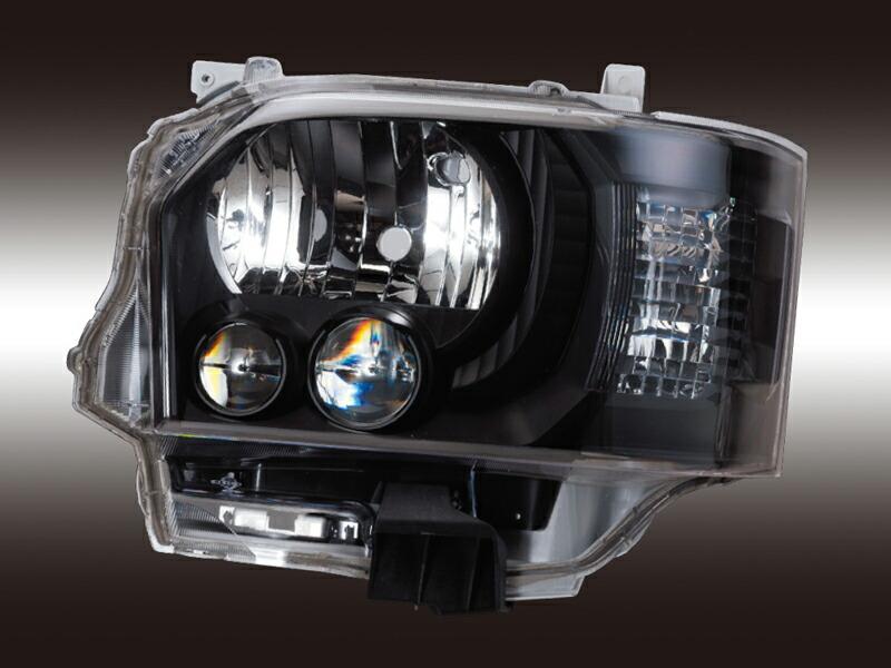 ハイエース】レジアスエース LEDヘッドランプ