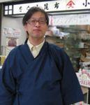 私が小倉屋昆布店長 松下浩一郎です だし昆布はほぼ全て加工しています
