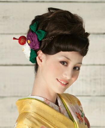 日本髪 結綿 はなころも