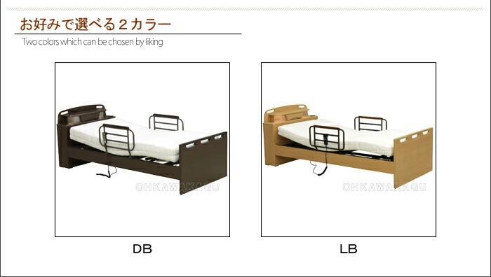 電動リクライニングベッド 2モータータイプHSユニット(マットレス付き)