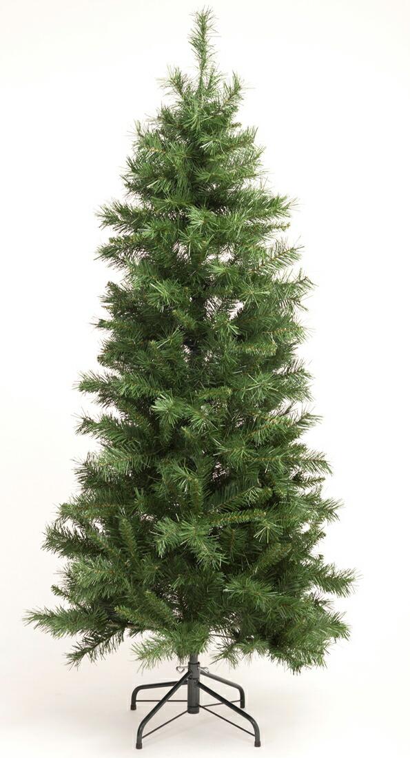 クリスマスツリー180cm【形状記憶/スリムツリー】