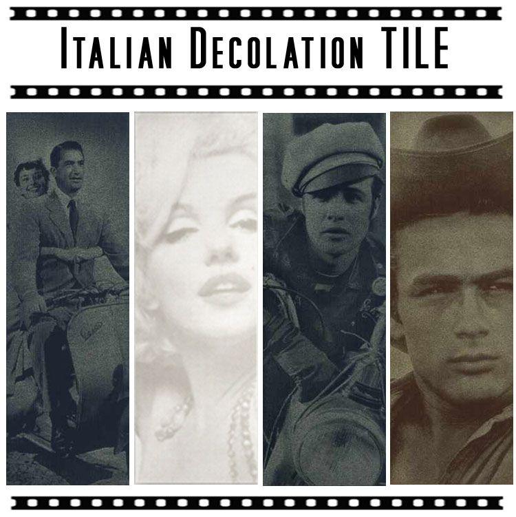 イタリア製デコレーションタイル