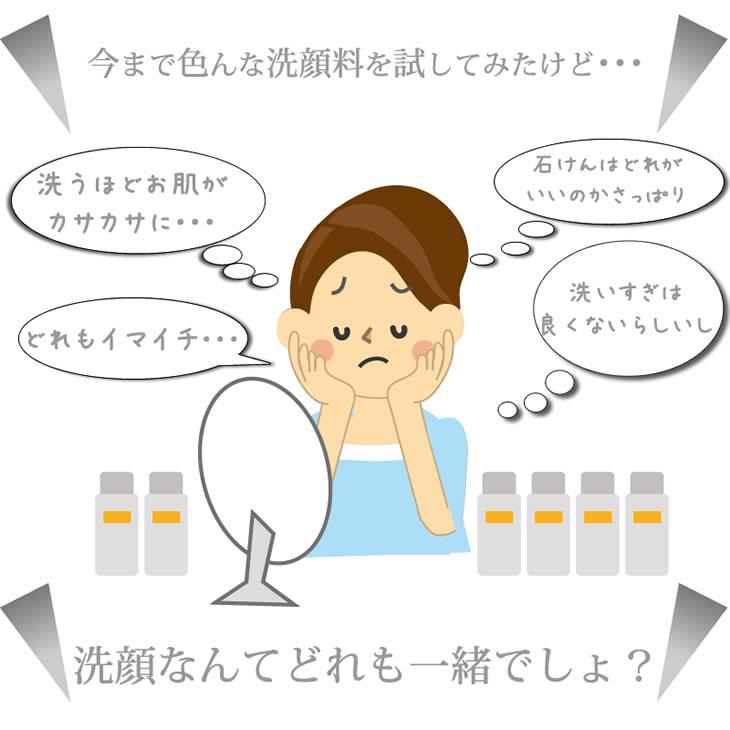 洗顔なんてどれも一緒でしょ?