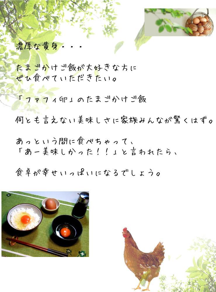 チャリティーファフィ卵