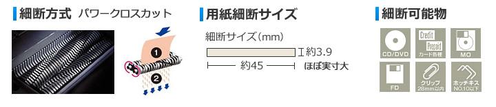 MSX-DPC65の細断方式
