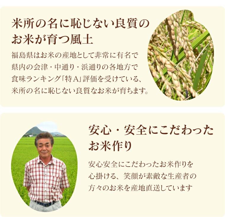 安心安全にこだわったお米作りを心掛ける、生産者の方々のお米を産地直送