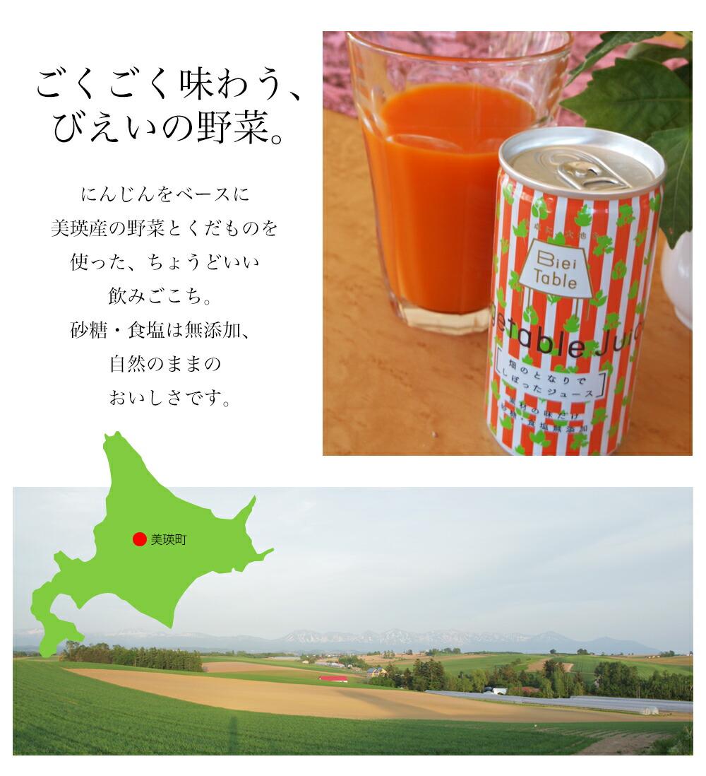 美瑛選果 畑のとなりでしぼったジュース