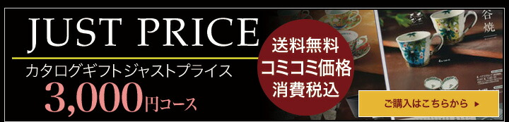 カタログギフト CATALOG GIFT ジャストプライス 3000円コース