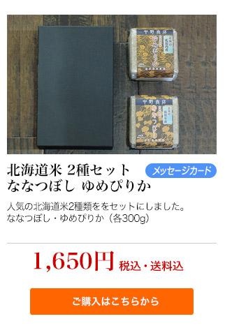 北海道米2食セット