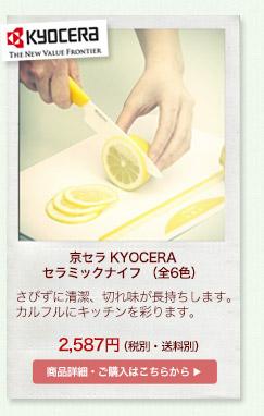 京セラ KYOCERA セラミックナイフ