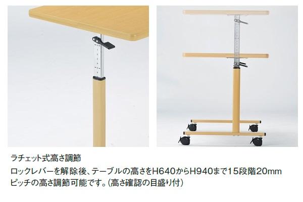 テーブル操作方法1