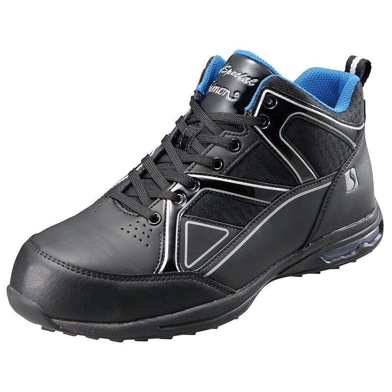 シモンSimon エアースペシャル4011 黒 静電靴 JSAA規格 A種 認定品