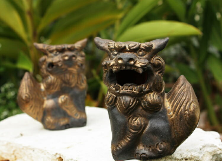 工芸品の伝統シーサー 陶芸家:大岩浩章