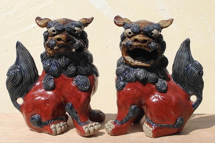 もっとも人気のあるシーサー 陶芸家:大岩