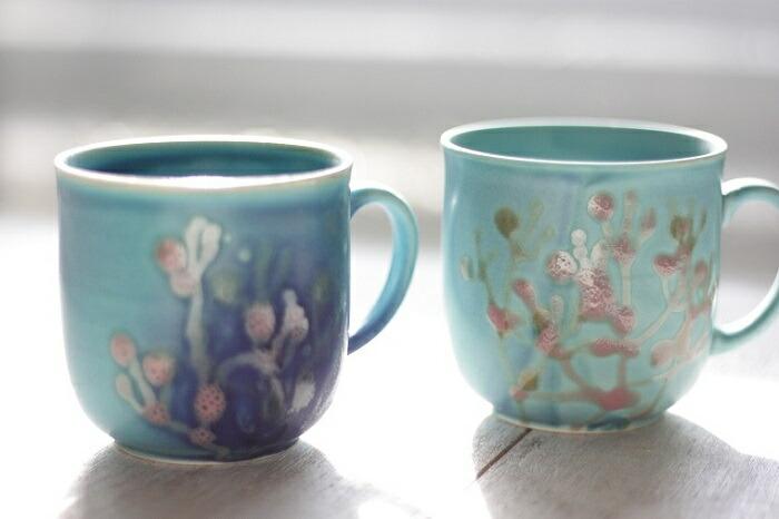 珊瑚のカップ