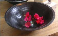 洗面鉢カテゴリ:雅でモダンな黒色洗面鉢