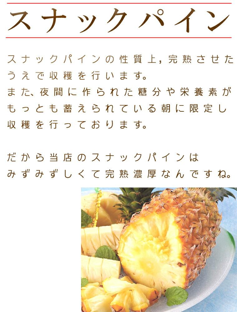 減農薬スナックパイン