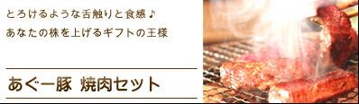 あぐー豚焼肉セット