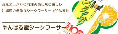 やんばる産シークワーサー100%果汁