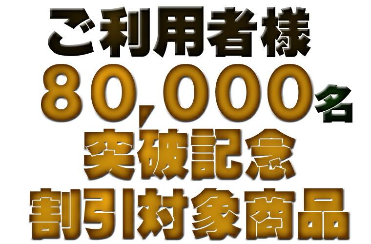 8万名突破記念