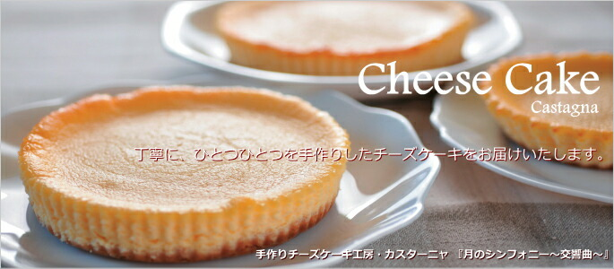 カスターニャ 広島 スイーツ チーズケーキ