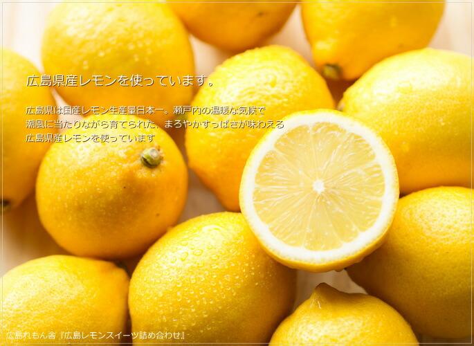 広島れもん舎 風季舎 広島レモンスイーツギフト