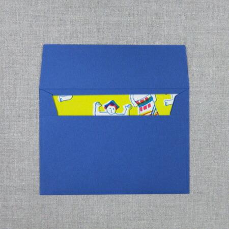 封筒1枚入り(図柄により色が異なります)