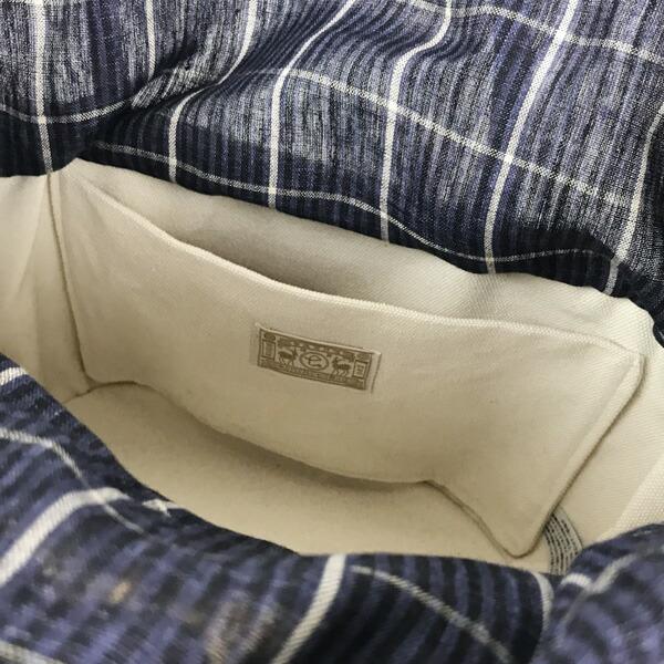 中川政七商店 スペック染リネンの籠バッグ